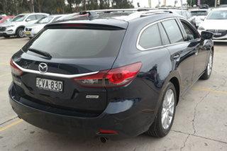 2014 Mazda 6 GJ1031 Touring SKYACTIV-Drive Blue 6 Speed Sports Automatic Wagon