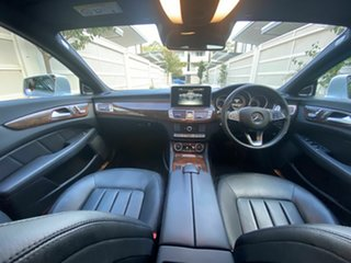 2016 Mercedes-Benz CLS-Class C218 807MY CLS250 d Coupe 7G-Tronic + Silver 7 Speed Sports Automatic