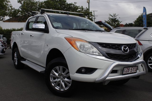Used Mazda BT-50 UP0YF1 XTR Mount Gravatt, 2013 Mazda BT-50 UP0YF1 XTR White 6 Speed Manual Utility