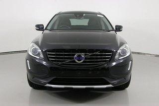 2015 Volvo XC60 DZ MY15 D5 Luxury Black 6 Speed Automatic Geartronic Wagon.
