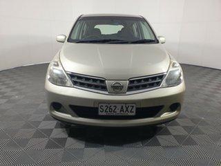 2011 Nissan Tiida C11 S3 ST Gold 4 Speed Automatic Hatchback.