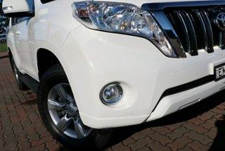 2016 Toyota Landcruiser Prado GDJ150R GXL White 6 Speed Sports Automatic SUV.