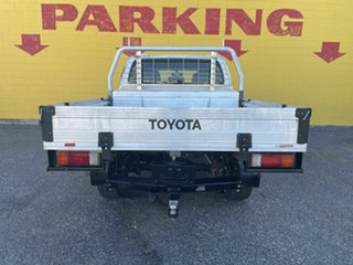 2015 Toyota Hilux GUN126R SR Double Cab White 6 Speed Manual Cab Chassis