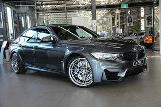 2017 BMW M3 F80 LCI Competition M-DCT Grey 7 Speed Sports Automatic Dual Clutch Sedan.