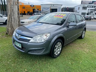 2007 Holden Astra AH MY07 CD Grey 4 Speed Automatic Hatchback.