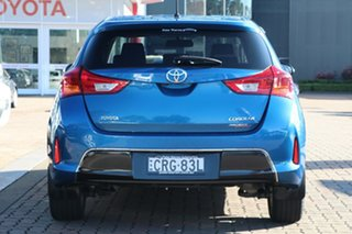 2013 Toyota Corolla ZRE182R Ascent Sport S-CVT Tidal Blue 7 Speed Constant Variable Hatchback