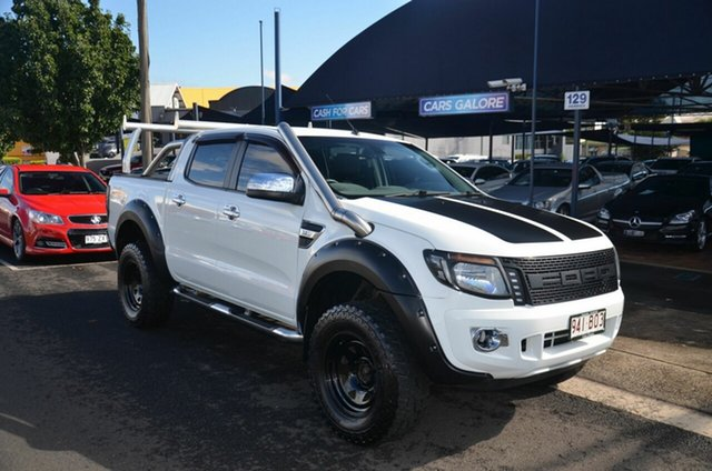 Used Ford Ranger PX XLT 3.2 (4x4) Toowoomba, 2013 Ford Ranger PX XLT 3.2 (4x4) White 6 Speed Manual Double Cab Pick Up
