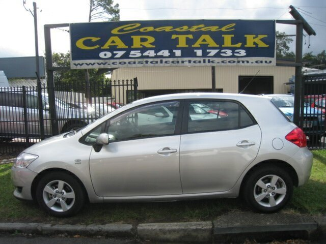 Used Toyota Corolla ZRE152R Ascent Nambour, 2007 Toyota Corolla ZRE152R Ascent Silver 4 Speed Automatic Hatchback