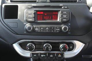 2014 Kia Rio UB MY14 S Silver 4 Speed Sports Automatic Hatchback.