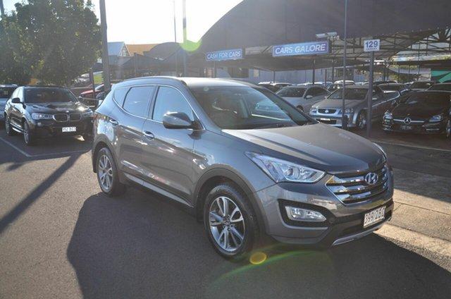 Used Hyundai Santa Fe DM Elite CRDi (4x4) Toowoomba, 2012 Hyundai Santa Fe DM Elite CRDi (4x4) Grey 6 Speed Automatic Wagon