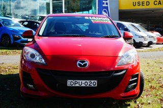 2010 Mazda 3 BL10F1 Maxx Activematic Sport Red 5 Speed Sports Automatic Hatchback.