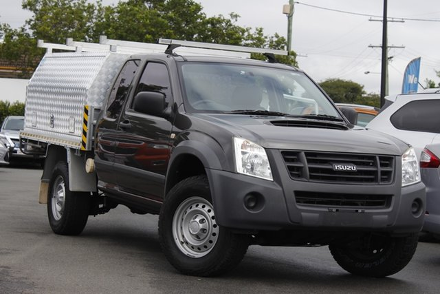 Used Isuzu D-MAX MY11 SX Mount Gravatt, 2011 Isuzu D-MAX MY11 SX Grey 5 Speed Manual Utility