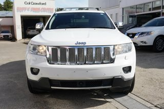 2012 Jeep Grand Cherokee WK MY2012 Overland White 5 Speed Sports Automatic Wagon
