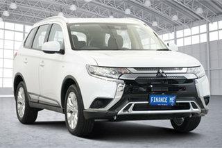 2019 Mitsubishi Outlander ZL MY19 ES AWD White 6 Speed Constant Variable Wagon.