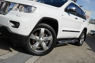 2012 Jeep Grand Cherokee WK MY2012 Overland White 5 Speed Sports Automatic Wagon.