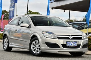 2006 Holden Astra AH MY06 CD Silver 4 Speed Automatic Coupe.