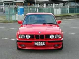1990 BMW 535is Red 5 Speed Manual Sedan.