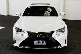 2016 Lexus RC350 GSC10R MY16 F Sport White 8 Speed Automatic Coupe.