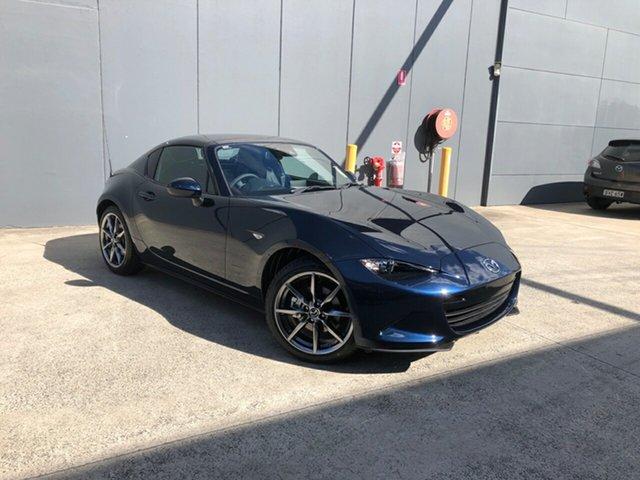 New Mazda MX-5 ND GT RF SKYACTIV-Drive Alexandria, 2021 Mazda MX-5 ND GT RF SKYACTIV-Drive Deep Crystal Blue 6 Speed Sports Automatic Targa