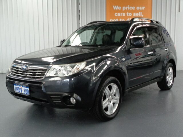 Used Subaru Forester S3 MY10 XS AWD Premium Rockingham, 2010 Subaru Forester S3 MY10 XS AWD Premium Grey 4 Speed Sports Automatic Wagon