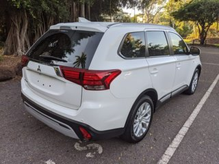 2019 Mitsubishi Outlander ZL MY20 ES 2WD White 6 Speed Constant Variable Wagon