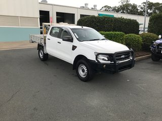 2015 Ford Ranger PX XL Frozen White 6 speed Automatic Cab Chassis.