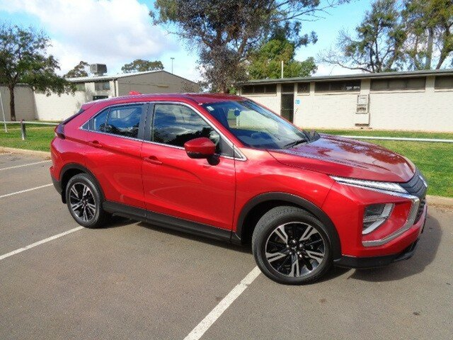 Demo Mitsubishi Eclipse Cross YB MY21 ES 2WD Elizabeth, 2020 Mitsubishi Eclipse Cross YB MY21 ES 2WD P62 Red 8 Speed Constant Variable Wagon
