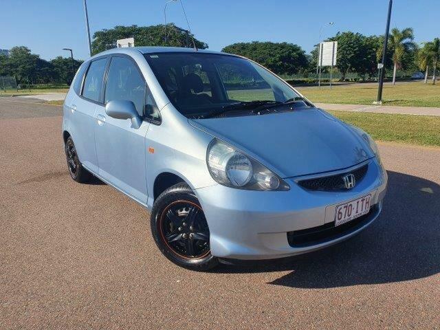 Used Honda Jazz GD MY05 GLi Townsville, 2005 Honda Jazz GD MY05 GLi Sirius Bl 1 Speed Constant Variable Hatchback