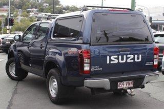 2015 Isuzu D-MAX MY15 SX Crew Cab Blue 5 Speed Sports Automatic Cab Chassis.