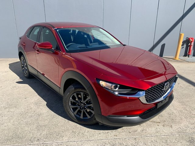 New Mazda CX-30 DM2W7A G20 SKYACTIV-Drive Pure Alexandria, 2021 Mazda CX-30 DM2W7A G20 SKYACTIV-Drive Pure Soul Red Crystal 6 Speed Sports Automatic Wagon