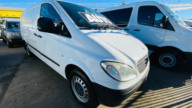 Used Mercedes-Benz Vito 639 MY08 115CDI High Roof Long Maidstone, 2009 Mercedes-Benz Vito 639 MY08 115CDI High Roof Long White 5 Speed Automatic Van