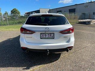 2013 Mazda 6 6C Touring White 6 Speed Automatic Wagon