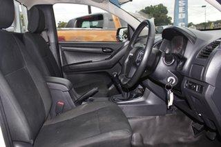 2018 Isuzu D-MAX MY17 SX 4x2 White 6 Speed Manual Cab Chassis