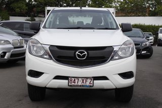 2017 Mazda BT-50 UR0YG1 XT Freestyle 4x2 Hi-Rider White 6 Speed Sports Automatic Cab Chassis