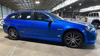 2010 Holden Commodore VE II SS Sportwagon Blue 6 Speed Manual Wagon.