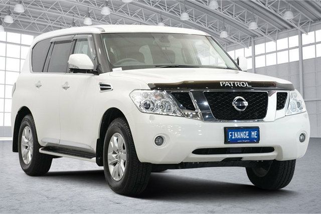 Used Nissan Patrol Y62 TI-L Victoria Park, 2013 Nissan Patrol Y62 TI-L White 7 Speed Sports Automatic Wagon