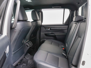 2019 Toyota Hilux GUN126R MY19 Rugged X (4x4) White 6 Speed Automatic Double Cab Pick Up