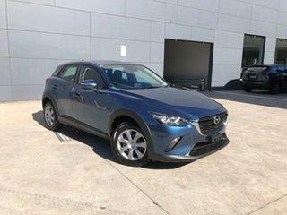 2021 Mazda CX-3 DK2W76 Neo SKYACTIV-MT FWD Sport Eternal Blue 6 Speed Manual Wagon.