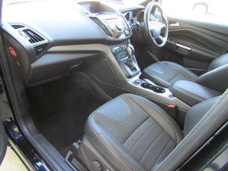 2014 Ford Kuga TF MY15 Trend PwrShift AWD Black 6 Speed Sports Automatic Dual Clutch Wagon