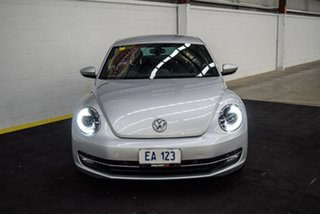 2013 Volkswagen Beetle 1L MY13 Coupe DSG Silver 7 Speed Sports Automatic Dual Clutch Liftback.