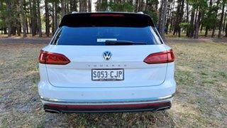 2019 Volkswagen Touareg CR MY19 190TDI Tiptronic 4MOTION Launch Edition Pure White 8 Speed