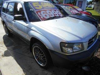 2004 Subaru Forester 79V MY05 X AWD Silver 5 Speed Manual Wagon.