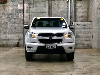 2014 Holden Colorado RG MY14 LTZ Crew Cab White 6 Speed Manual Utility.