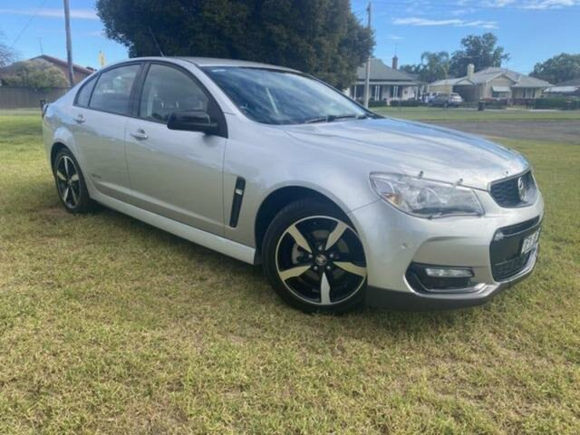 Used Holden Commodore Vfii MY16 SV6 Black Edition Wangaratta, 2016 Holden Commodore Vfii MY16 SV6 Black Edition Silver 6 Speed Automatic Sedan