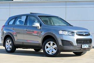 2013 Holden Captiva CG MY14 7 LS Grey 6 Speed Sports Automatic Wagon.