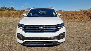2021 Volkswagen T-Cross C1 MY21 85TSI DSG FWD Style Pure White 7 Speed Sports Automatic Dual Clutch.