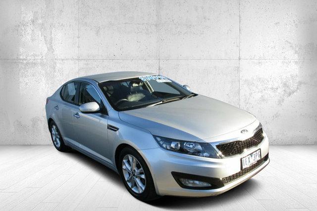 Used Kia Optima TF MY13 SI Bendigo, 2013 Kia Optima TF MY13 SI Silver 6 Speed Sports Automatic Sedan