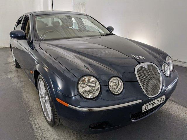 Used Jaguar S-Type X204 MY2008 Luxury Maryville, 2007 Jaguar S-Type X204 MY2008 Luxury Blue 6 Speed Automatic Sedan