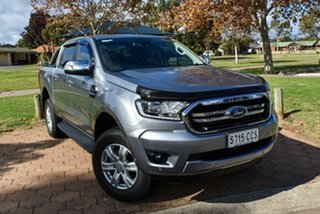 2019 Ford Ranger PX MkIII 2020.25MY XLT Hi-Rider Grey 10 Speed Sports Automatic Double Cab Pick Up.