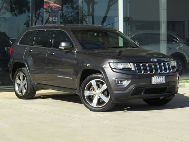 Used Jeep Grand Cherokee WK MY2014 Laredo 4x2 Ravenhall, 2014 Jeep Grand Cherokee WK MY2014 Laredo 4x2 Grey 8 Speed Sports Automatic Wagon